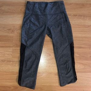 Cropped Full-on luxtreme fabric leggings